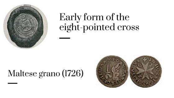 Early form of the eight-pointed cross
