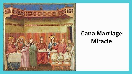 Cana Marriage miracle