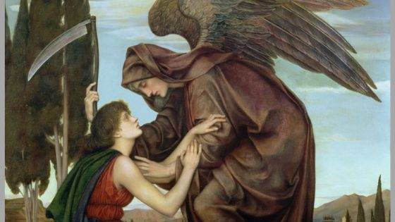 Do angels bring comfort to the dying