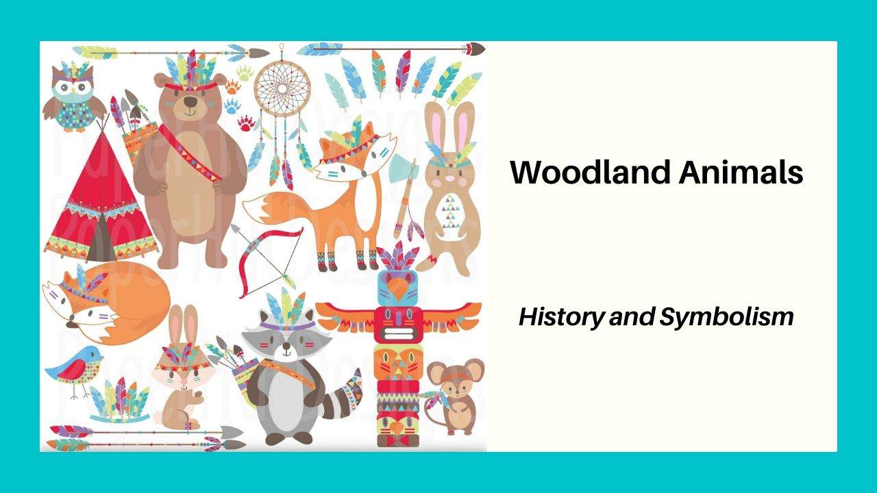 Woodland Animals Totems Folklore