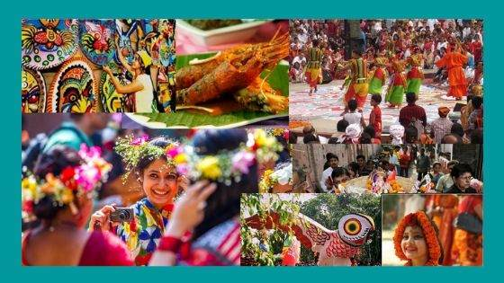 How is Poila Boishakh Different in Bangladesh than India