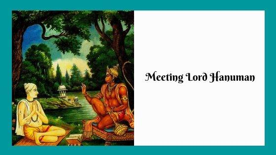 Meeting Lord Hanuman