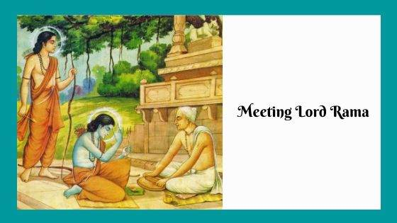 Meeting Lord Rama