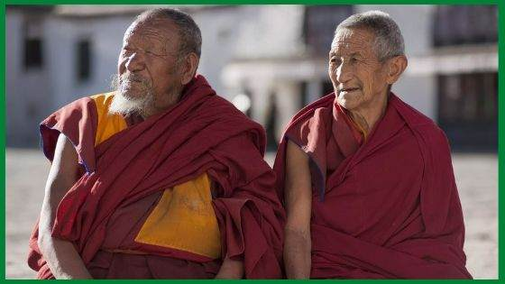 The Buddhist Monk Robes_ A Tibetan Monk and His Zhen
