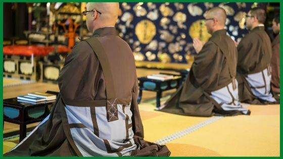 What are Monk Robes made from