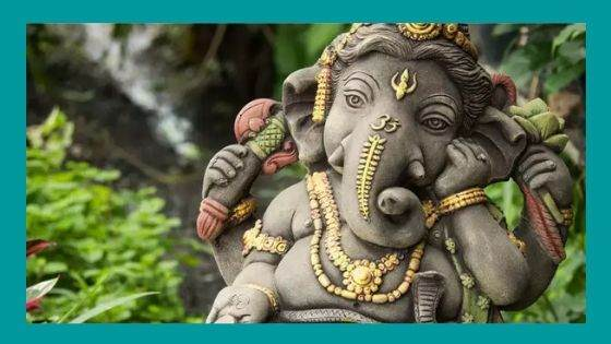 What signifies the meaning of the names of Ganesha
