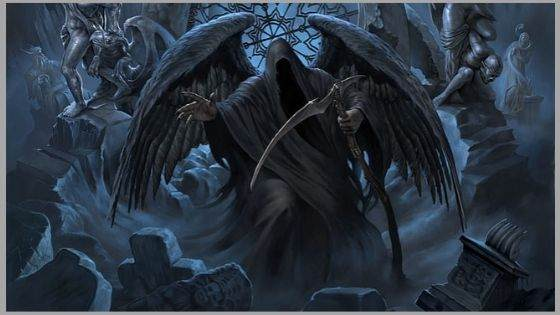 Who is the Christian angel of death