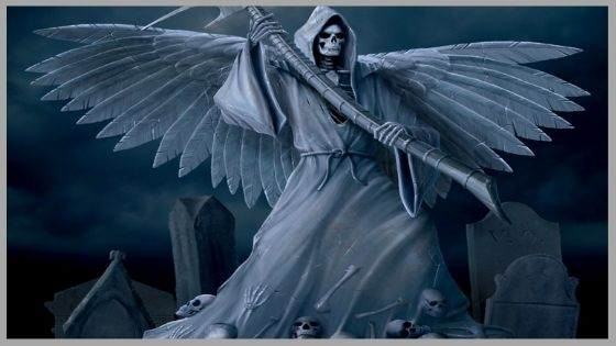 Who is the Jewish angel of death