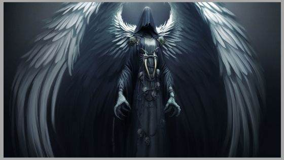 Who is the angel of death in the Bible