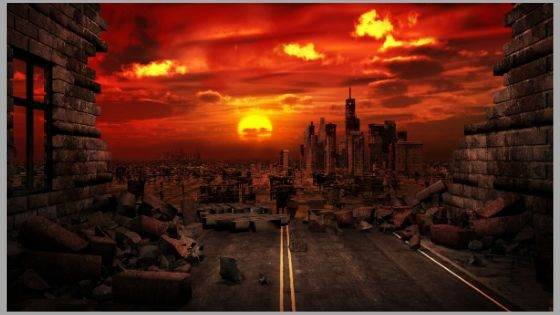 Apocalypse in the Last Book of Christian Bible