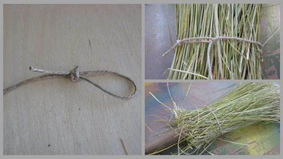 Magical Broom Wrapping with the Twine