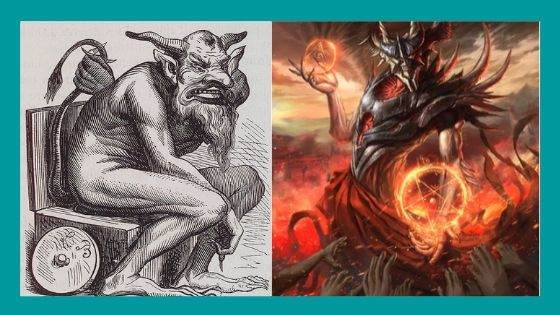 Demon Associated with Sin of Sloth