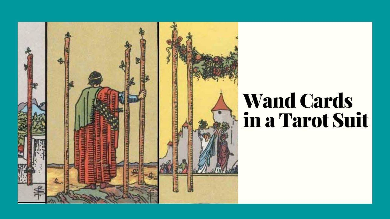 14 Wand Cards in a Tarot Suit Meaning