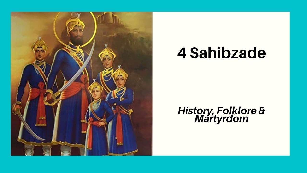 4 Sahibzaade Khalsa Warriors