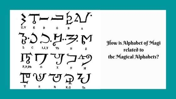 How is Alphabet of Magi related to the Magical Alphabets