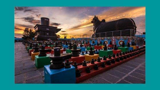 How many numbers of Lingas are there in Kotilingeshwara Temple