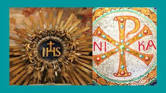 IHS and Chi-Rho