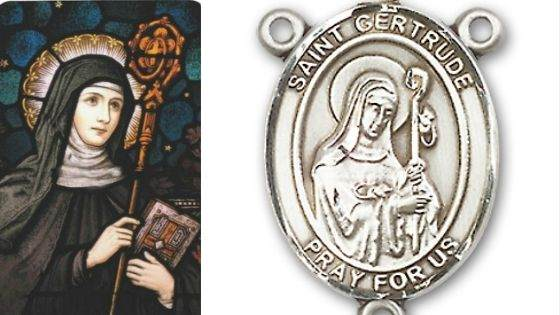 Miracles associated with Saint Gertrude