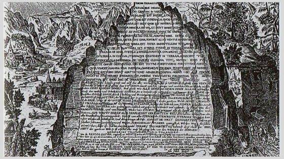 The Oldest Copy of Emerald Tablet