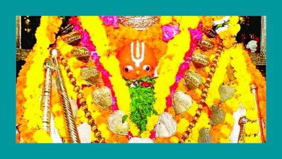 What are the major festivals celebrated at the Hanuman Garhi