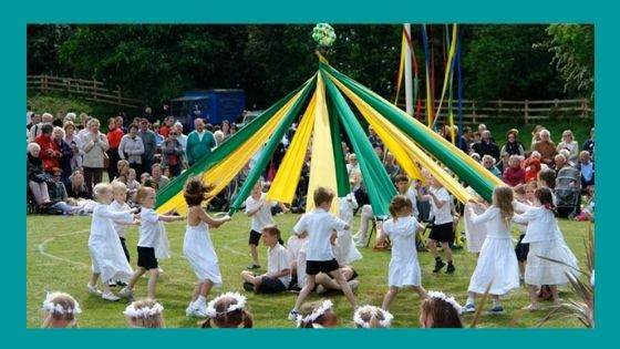 What is a Maypole dance