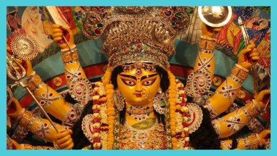 When was Durga Puja in the previous years