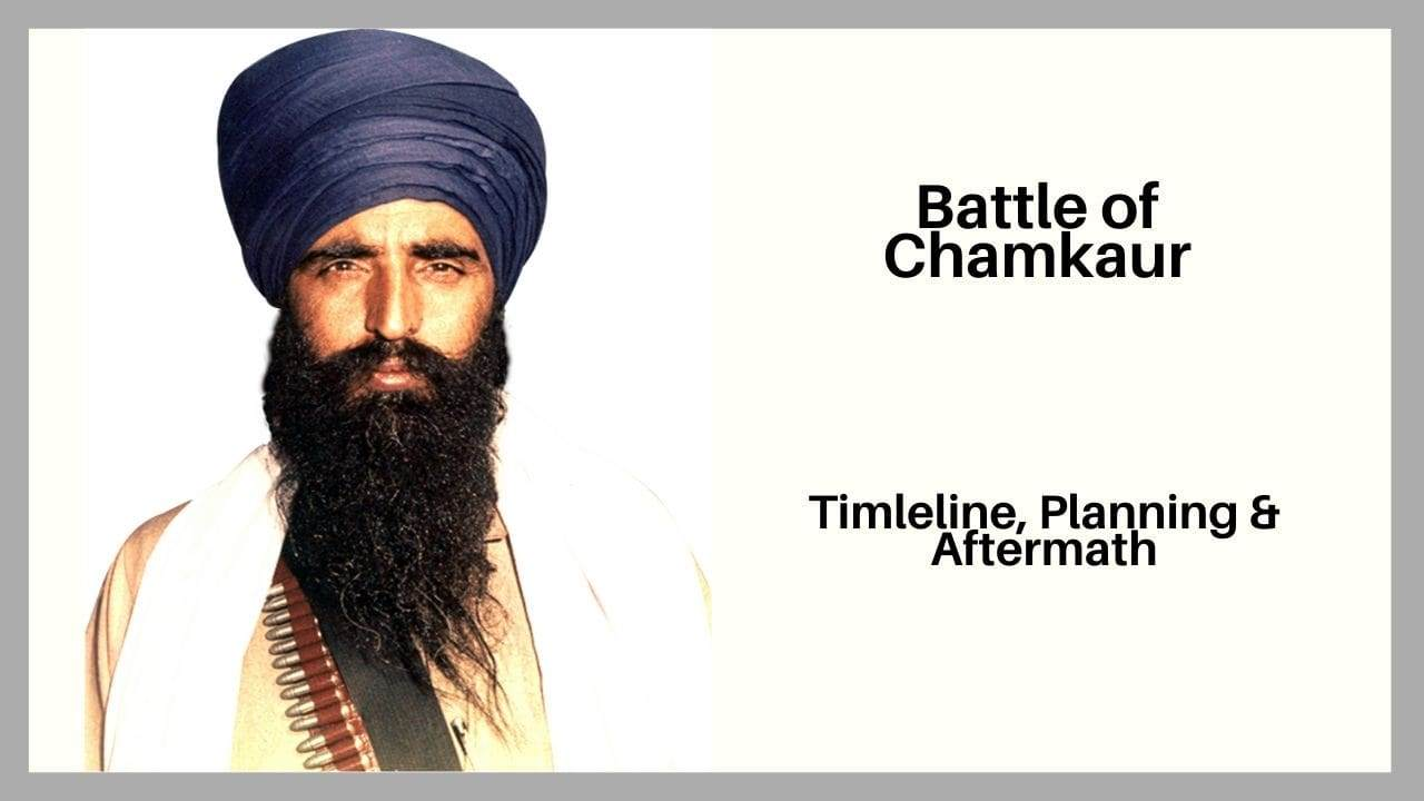Operation Blue Star Timeline, Planning and Aftermath