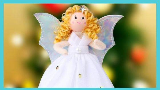 Ornaments of the Christmas Tree Angel