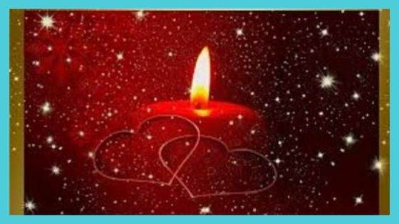 Attracted Energy by Red Candle