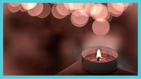 Essential Oils in Red Candles