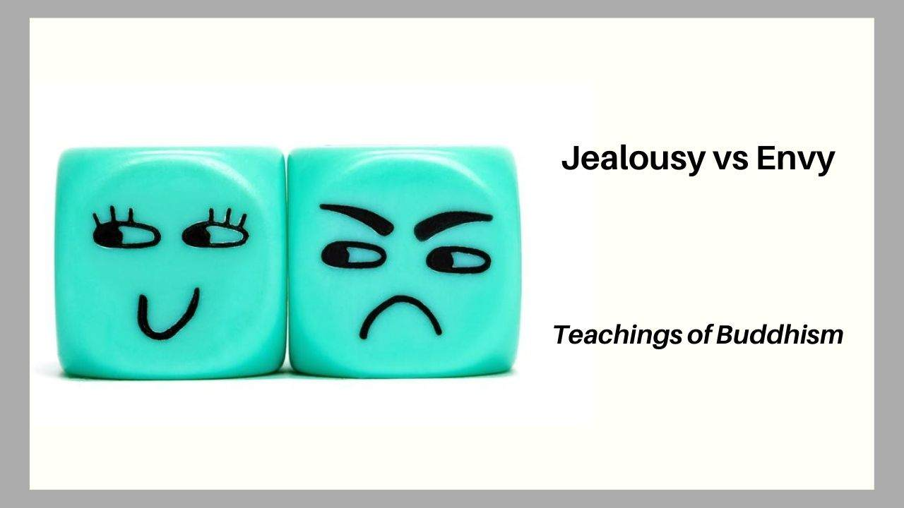 Jealousy and Envy Teaching of Buddhism