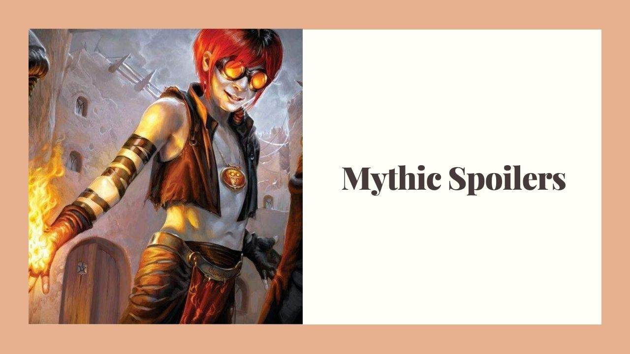 Mythic Spoiler The Visual Magic the Gathering Spoiler