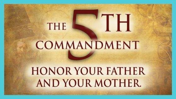 Historical Beliefs of Honour thy father and thy mother