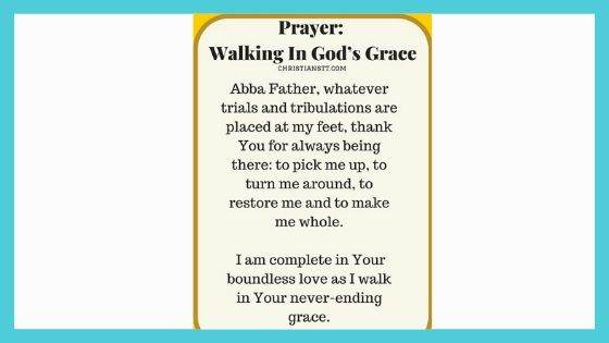 Prayer for Guidance and Grace