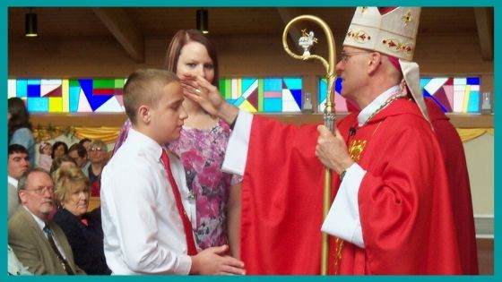 Anointing with the Chrism Oil
