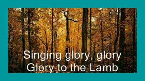 Creation Song (Glory to the Lamb)