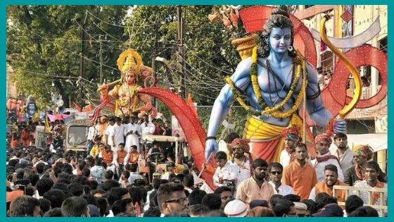 How does the Celebrations of Ram Navami carried out?