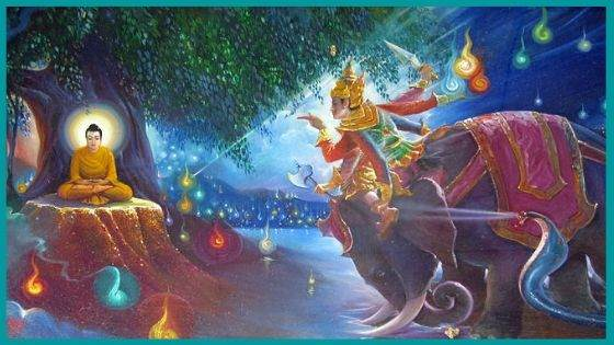 How is Demon Mara associated with Buddhism