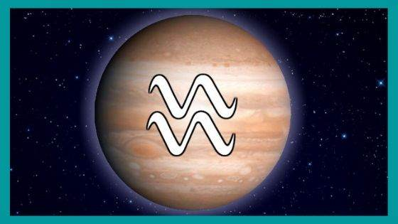 What are the Benefic and Malefic aspects of Jupiter for Aquarius Sign?