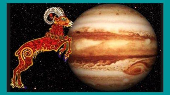 What are Benefic and Malefic aspects of Jupiter for Aries Sign?