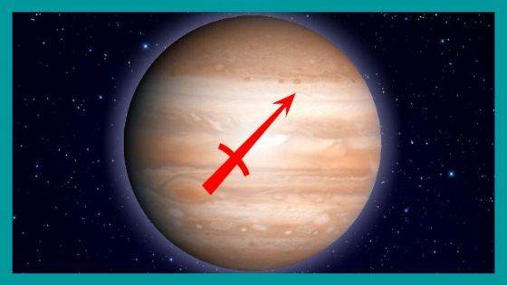 What are the Benefic and Malefic aspects of Jupiter for Sagittarius Sign?