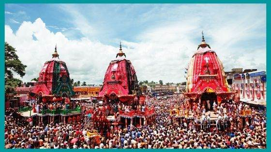What happens to the Chariot after the Rath Yatra?
