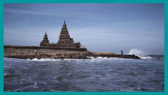 What is the History behind the Submerged Shore Temple?