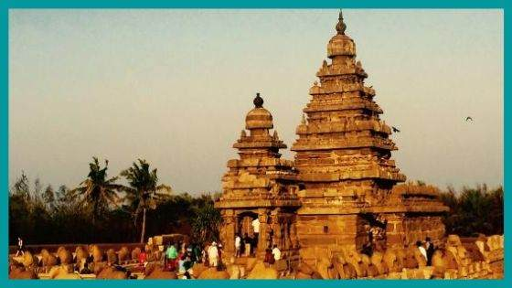 What is the Legend associated with Shore Temple?