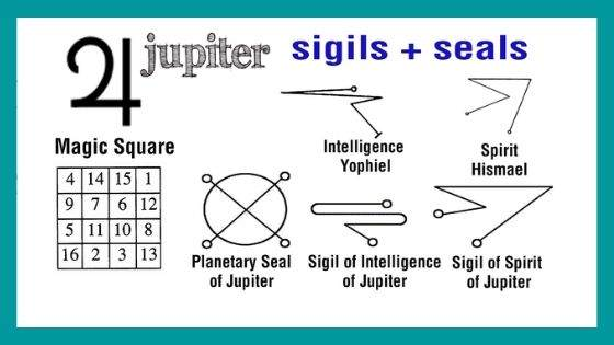 What is the Magic Square of Jupiter?