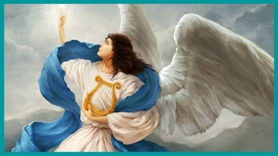 Angel Associated with White Aura