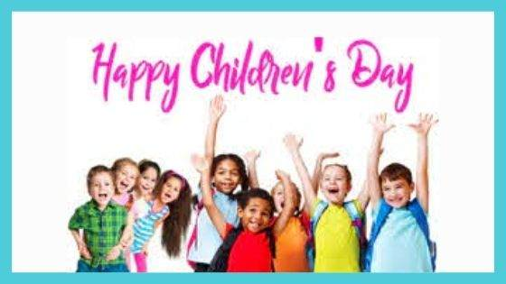Why is Children's Day celebrated on 14th November?