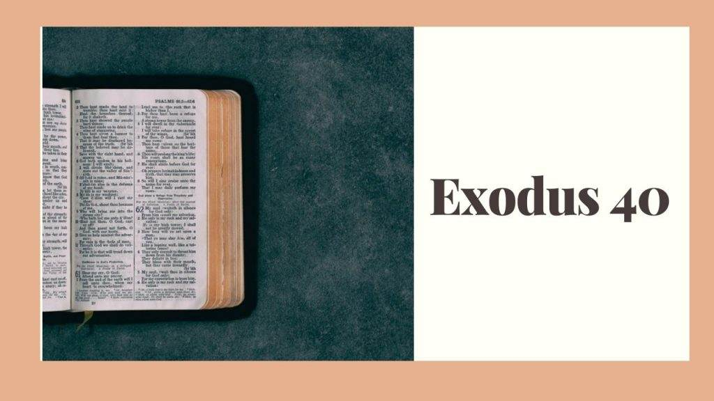Exodus 40 (Setting Up the Tabernacle) – WikiReligions