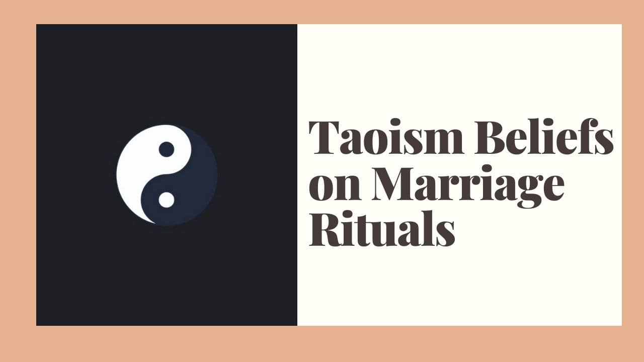 Taoism Beliefs on Marriage Rituals – WikiReligions