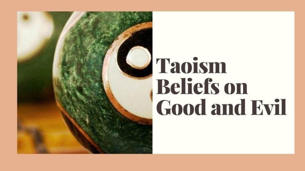 Taoism Beliefs on Good and Evil – WikiReligions